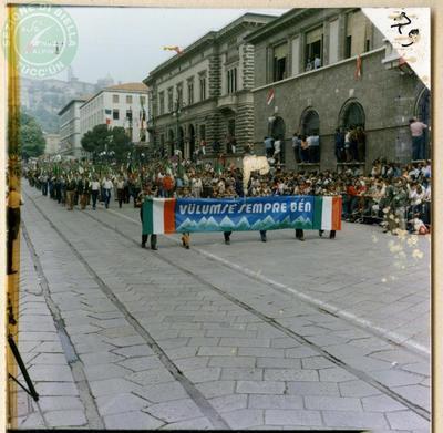 Album Adunata Nazionale Bergamo 18 maggio 1986