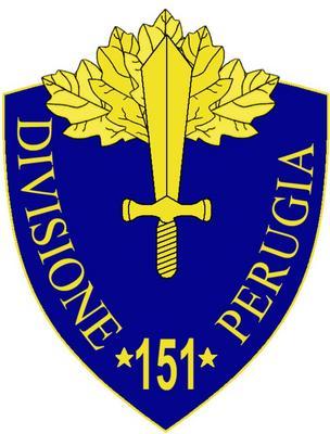 "151a Divisione Fanteria ""Perugia"""