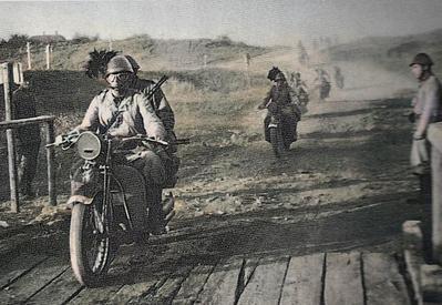 1a Compagnia motociclisti - 3° Reggimento Bersaglieri
